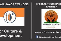 Royal Partnership since 2007 / Attractions Africa Tours & Travel is the Official,Proud Tour Operator Partner of Kooki Royal/Cultural establishment