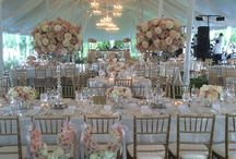 Julie & Ben's Wedding by Celebrations LLC / One of the loveliest weddings we've done linens for! Thank you Celebrations LLC, Simply Beautiful Flowers, Classic Catering, Loane Brothers Inc., Select Event Group, Amaryllis, Inc. Floral + Event Design, Washington Talent, Photo & Video.