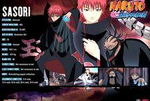 Naruto characters info
