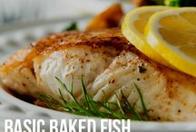 Healthy Fish Recipes / Delicious and health-supportive fish recipes.