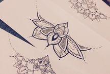 Schițe de tatuaje
