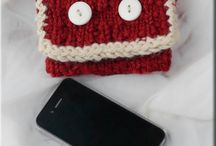 iphone case loom knitted