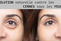 Soin du contour des yeux / soins naturels et doux pour le cpntour des yeux: soins pour prévenir les rides et éliminer les cernes et les poches sous les yeux