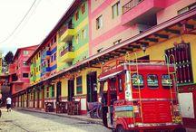 Guatapé, Ant / Guatapé, Ant. Municipio  ubicado al oriente del  departamento, en la zona de los embalses, conocido  por sus coloridos Zócalos, y muchos atractivos turísticos   para el goce de todas las personas.