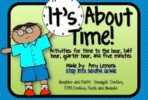 Primary Math- Time / by Natalie Davis