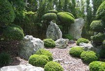 GARDENS / ~English cottage gardens ranging to formal gardens~