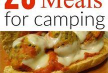 Camping Spots, Food & Gear