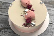 Mirror Cakes..♡