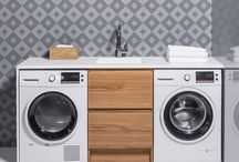 Laundry by Bath Co / / Freshly laundered linen is one of life's little luxuries, and a Bath Co Laundry that brings function and exquisite form together, makes wash day a breeze /
