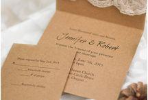 Wedding stationary / invitations & etc
