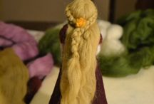 Felting and Dolls