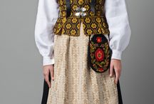 Norways traditional costumes (bunad)