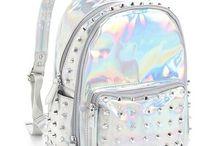 Shiny beckpack
