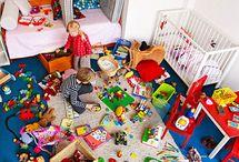 Organizing kid spaces / by Ashley Williams