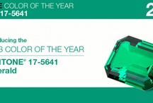 "Emerald - 2013 Colour of the year / The Pantone Colour Institute selected Emerald Green as the 2013 colour of the year.  Pantone describe the shade as ""Lively, Radiant Lush.  A color of elegance and beauty that enhances our well-being, balance and harmony"". A bit like my blog :-)"