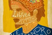 BonaccorsiArt [my graphic design projects] / Il mio lavoro di progettista e creatore di immagini. La mia personale zuppa grafica My job as designer and image creator. My personal graphic soup / by Alessandro Bonaccorsi
