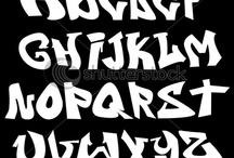 Alfabeto graffiti