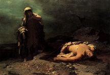 Tragedias / Imágenes relativas a la Tragedia Griega