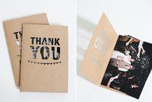 ThankYou Cards ❤️ Grafikdesign / Inspiration zu Grusskarten, Dankeskarten & ThankYou Cards