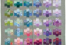 Made from my Pretty Gemstones Quilt Pattern / by Cynthia Brunz Designs