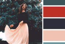 Colours outfits nero/colore