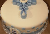 Christening Day Cakes
