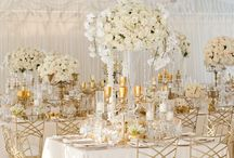 White and Gold Wedding Theme