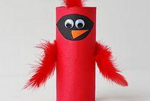 Birds & Nests / Bird and nest activities for preschool and kindergarten kids.