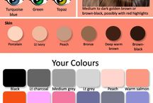 Brown hair colour chart color palettes