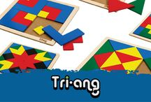 TriAng / NZ children have been creating kiwi memories thanks to Tri-ang since 1936. Tri-Ang produces tough wearing products for children who like to play hard. The build-up peg board is a must have in every kiwi home while the block boards test problem solving with shapes. http://www.thewoodentoybox.co.nz