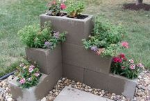 mur plantering