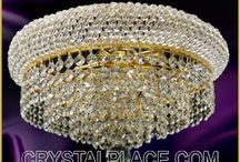 CRYSTAL CHANDELIERS / Shop Crystal Chandeliers, Top Quality Crystal and Designer Styles.Colorful or Clear Crystal Chandelier at the best prices.