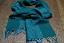 Woven linen accessories