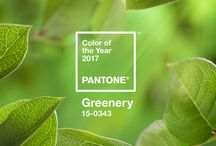 Greenery design ideas (2017 color of the year)