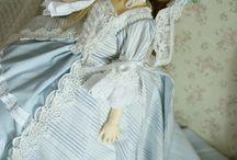 BJD dresses made by me / Dollfie, BJD, Dresses