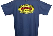 Mopar Heritage Tees / Here are a few of the heritage Mopar tees that we are featuring on WearMopar.com in honor of our 75th Anniversary! / by Official Mopar
