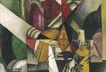 Albert Gleizes - www.evapartcafe.com / Albert Gleizes var en fransk målare, grafiker och konstskribent. Wikipedia F: 8 dec 1881, Paris, Frankrike D: 23 jun 1953, Saint-Rémy-de-Provence, Frankrike Rörelser: Kubism, Groupe de Puteaux, Impressionism, Abstrakt konst