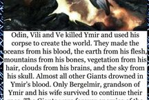 Myths, legends and mythical creatures