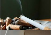 cigarette odour