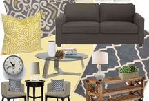 Living Room makeover / by Mary Clarke