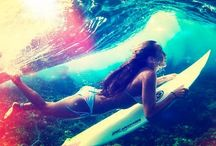 surf in summer
