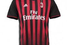 Billige AC Milan trøje / Køb Billige AC Milan trøje 2016-17,AC Milan fodboldtrøjer,AC Milan hjemmebanetrøje,udebanetrøje,3. trøje 16-17 udsalg med navn.