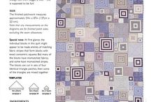 Quilting -- patterns