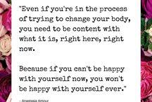 Love your body! / Self-acceptance & Self-love❤️