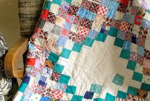 Quilts: Scrappy / scrappy quilts