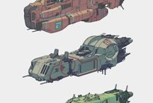 Spaceship designs