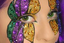 eye mask face paint