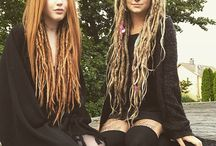 Lock hairdos