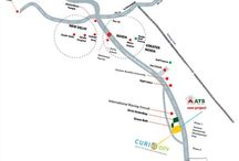 Ats allure location map greater noida