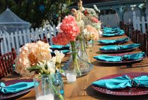 Outdoor shabby chic wedding / Outdoor shabby chic wedding